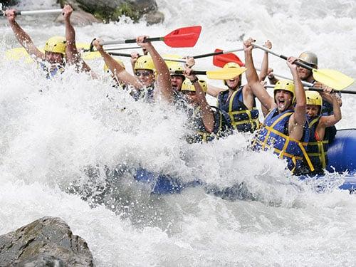 rafting la clusaz