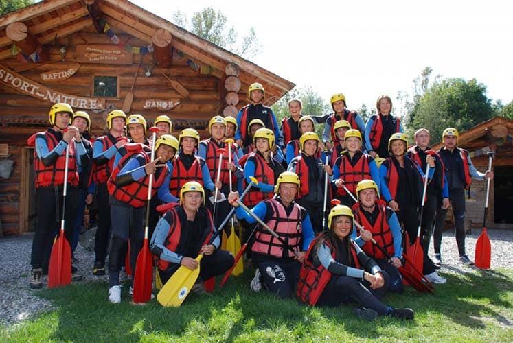 séminaire rafting