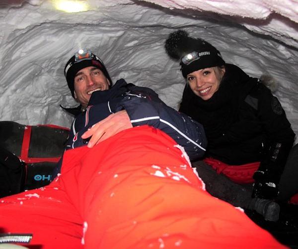 nuit sous igloo