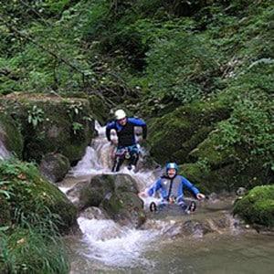 canyoning laclusaz