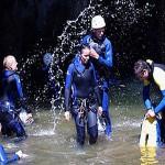 Canyoning  La Clusaz
