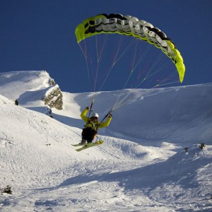 Speed riding Sport outdoor La Clusaz hiver