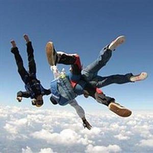 Chute libre parachute LaClusaz Sport outdoor La Clusaz été