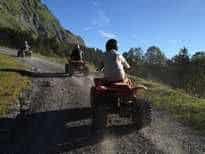 randonnée quad laclusaz