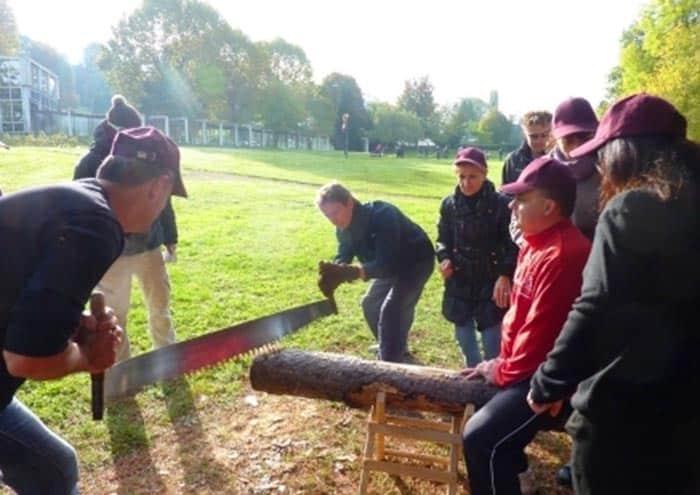 team building laclusaz