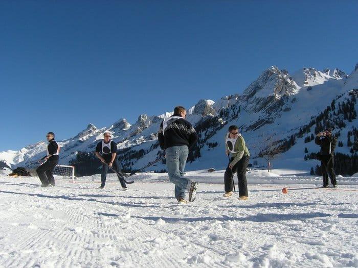 séminaire neige team building laclusaz