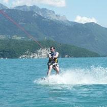Ski nautique wakeboard wakesurf Clusaz