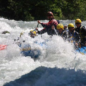 rafting LaClusaz