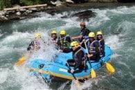 stage rafting LaClusaz